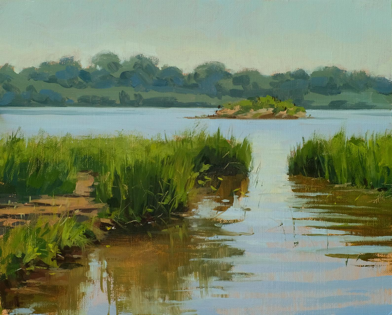 "Cootes Paradise. 8""x10"" oil on linen board"